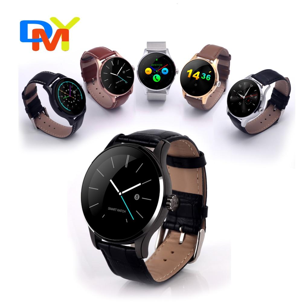Original Smart Watch Track Wristwatch MTK2502 Bluetooth K88H font b Smartwatch b font Heart Rate Monitor