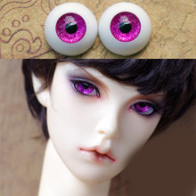 Golden purple  bjd doll eyes for BJD Dolls toys sd eyeball 1/3 1/4 1/6 8mm 14mm 16mm 18mm 20mm Acrylic EYEs dolls