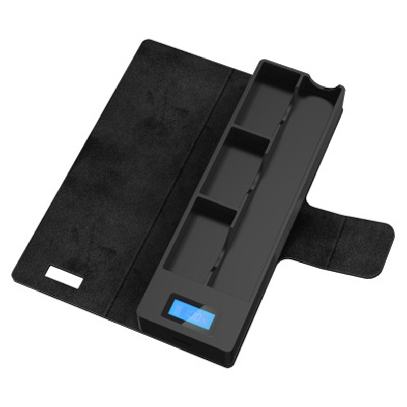 Universal Compatible for JUU Electronic Cigarette Charger for JUU Mobile Charging Pods Case Holder Box LCD Charging Indicator