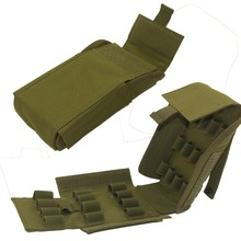US $2.98 38% OFF|Tactical Ammo Shells Shotgun Reload Magazine Pouch Army Molle 25 Round 12GA Gauge Hunting Ammo Mag Pouches Bag Airsoft Accessory-in Pouches from Sports & Entertainment on AliExpress - 11.11_Double 11_Singles' Day
