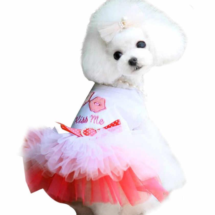 Zero 1pc Pet Puppy Small Dog Cat Lace Skirt Princess Tutu Dress Clothes Costume Princess Dog Costumes Dog Small Clothesdog Clothes Costumes Aliexpress