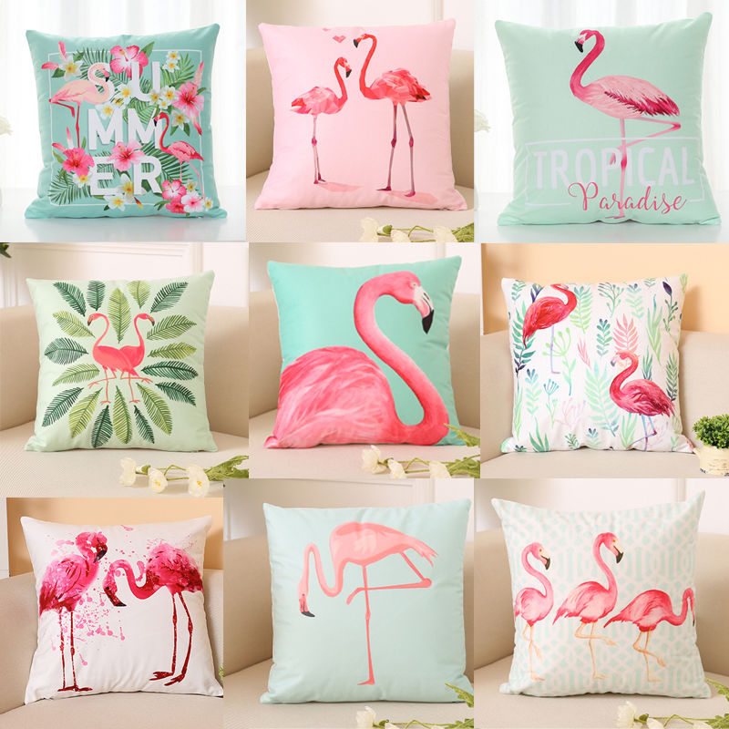 Pillow-Case Throw Cover-W Waist Good-Sleep Flamingo Soft Home-Decor For Your High-Quality