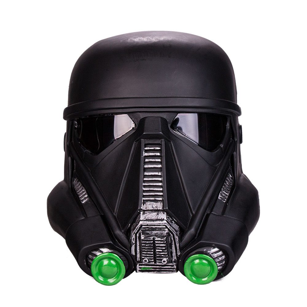 New Fashion Free Shipping Cosplay Star Wars  Death Trooper Helmet  Classic Force Awakens Rubies Deluxe Helmet Halloween Party