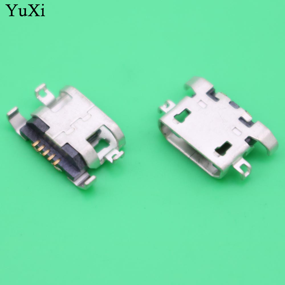 50PCS micro USB connector charging port socket plug female Replacement Part for Lenovo A670 S650 S720 S820 S658T A830 A850 S939 chenghaoran 36models micro usb connector very common used charging port for zte lenovo huawei and other brand mobile tablet gps
