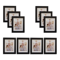Giftgarden 3 5x5 Wall Picture Frame Set Of 10 Piece 3 5 By 5 Inch No