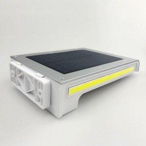 Image 2 - 72LED 34COB Waterproof 500Lm Solar Motion Sensor Lamp Garden Security Light