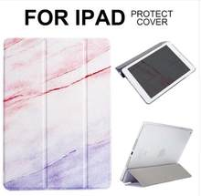 Dropshipping funda magnética de mármol para iPad 2/3/4 Air2 Mini 1 2 3 4 mini5 funda de Tablet para iPad 2017 2018(China)