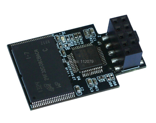 Новый Kingspec SSD eUSB DOM 32 ГБ (KDM-EUSB.2-032GMI) 9 PINs Промышленная Embedded USB Disk on Module (EUSB DOM) Flash