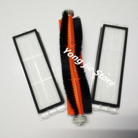 2 Filter 1 Roller Brush Suitable For Xiaomi Robot Roborock S50 Xiaomi Vacuum 2 Roborock