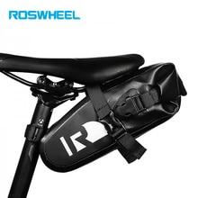 Roswheel Bike 100% Waterproof Bag Bicycle Saddle Bag Pannier Rear Cycling Bicycle Bags Accessories Backpack  Nylon Bag Bike Ce