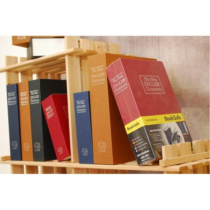 Skladovací box slovník Tajná kniha Bezpečné bankovní peníze Skryté tajné bezpečnostní skříňka Cash Jewelery Key Lock