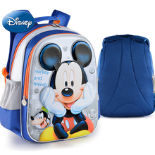 Disney Drand Mickey Minnie Pattern Student School Bag For 1-6 Grade Kids Children Backpack Schoolbag Boys Girls Bagpack