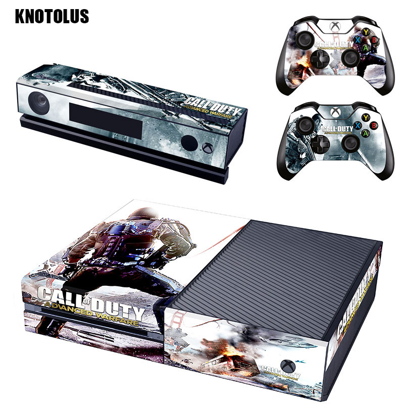 call of duty Vinyl Skin Sticker Cover For Xbox ONE Console Controllers Protective Skin Decal For Microsoft Xbox One Gamepad