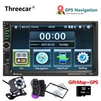 GPS Navigation 7020G Autoradio 2 Din Multimedia Car Radio Stereo Mirror Link Mp5 Player FM USB Bluetooth Auto Video Car Radio