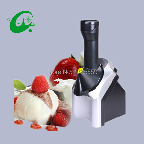 Automatic Household Ice cream machine, Portable Fruit ice cream maker edtid 12kgs 24h portable automatic ice maker household bullet round ice make machine for family bar coffee shop eu us uk plug