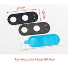 2Pcs/lot, Back Camera Glass For Motorola Moto G4 / G4 Plus Rear Camera Glass Lens With Glue