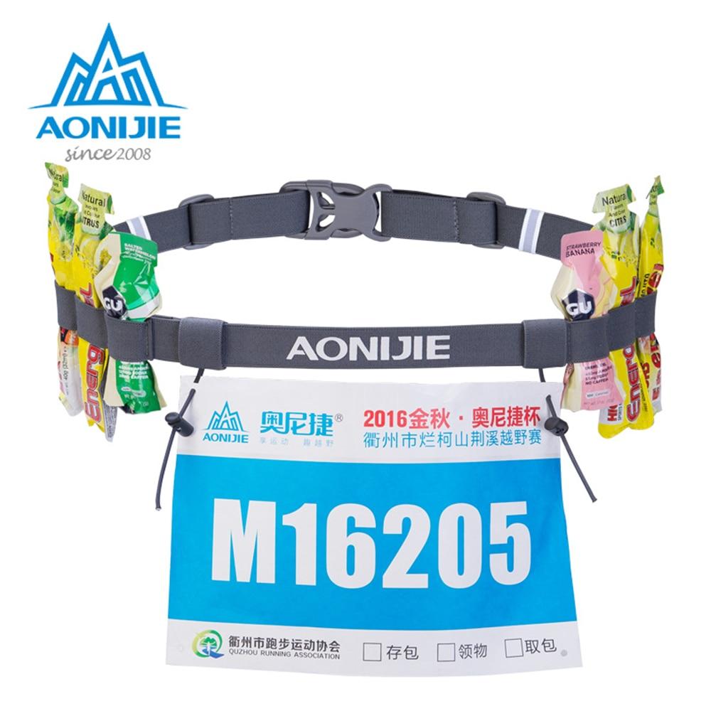 Aonijie 15l Outdoor Light Weight Hydration Backpack Rucksack Bag C930 Trail Marathon Running Blue Unisex Race Number Belt Waist Pack Bib Holder For Triathlon Cycling Motor With