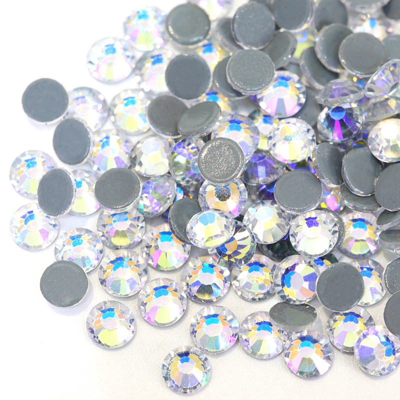 2028 SS4-SS30 Crystal Moonlight Hot Fix Rhinestones Iron On Hotfix Strass  Iron on Fabric Stones for Transfer Design Y3850 564491f2948d