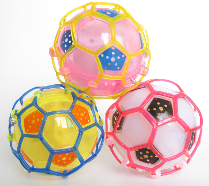 Crazy Football Soccer Colorful Bounce Bouncing Dancing