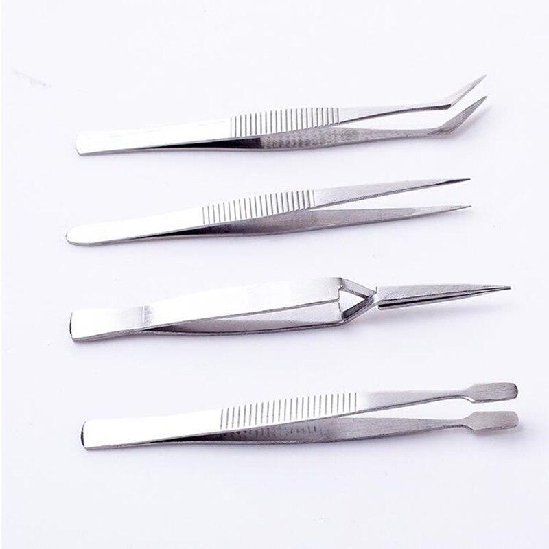 RDEER 4Pcs / Set Electronics Tweezers Forceps Set de instrumente - Unelte de mana - Fotografie 5