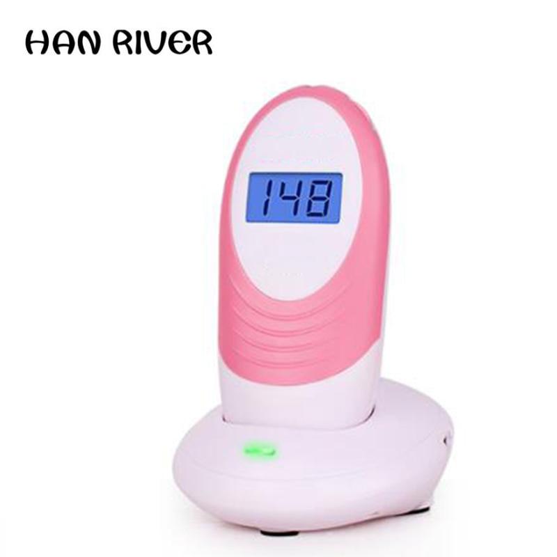 Fetal heart rate monitor pregnant women home no radiation fetal fetal heart rate monitoring stethoscope Doppler test tire favori