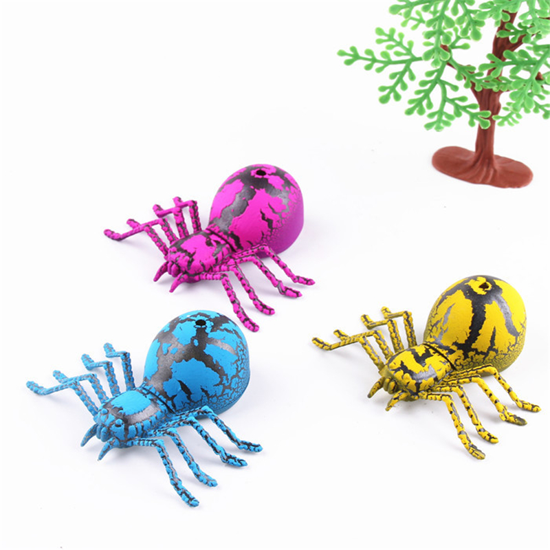New Design Funny Tricky Toys Spider Model Children Growing Toys Watercolor Cracks Grow Baby Gifts Soaking
