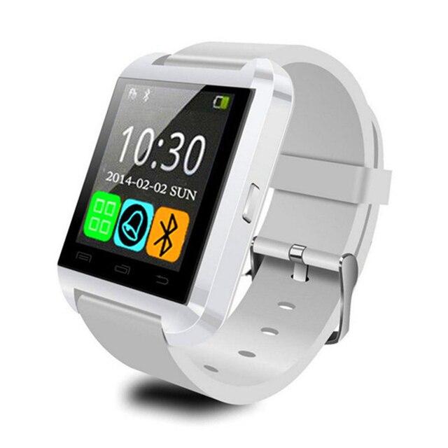e4ae02c445d Moda Relógio Inteligente U8 Bluetooth MTK Digital-relógio Pulseira de Silicone  Pulseira de Esportes para