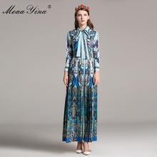 Moaayina модное дизайнерское подиумное классическое платье макси