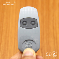 came remotes Universal Garage Door Fixed Code RF Remote Control CAME TOP 432EE 2 button (with battery) Free Shipping