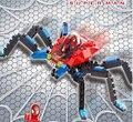 2017 de alta calidad de super hero spiderman building blocks compatible todas las marcas ladrillos niño juguetes educativos regalo de cumpleaños brinquedo
