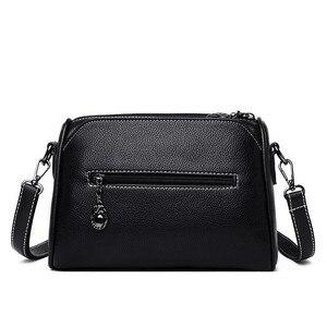 Image 4 - Luxury Handbags Women Bags Designer 2019 Ladies Bag Party Female Leather Shoulder Bag Vintage Women Messenger Bags Sac A Main