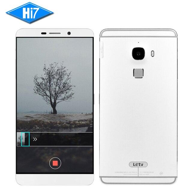 "New Original Letv Le Max X900 Mobile Phone Android Octa Core 4G RAM 64/128GB ROM 21MP 2560*1440P Fingerprint 6.3"" 4G LTE 3400mAh"