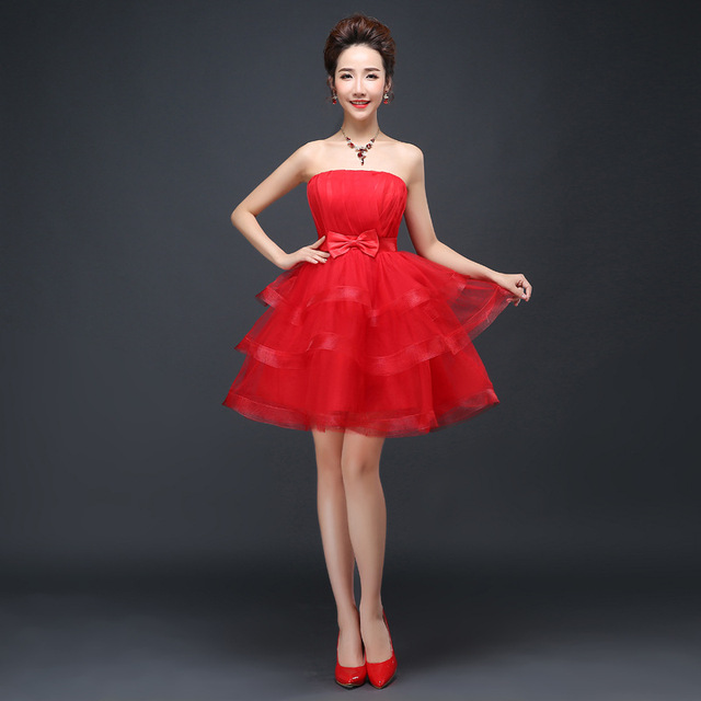Mode Layered Party Prom Red Flower Girl Kleid Prinzessin Größe 14 ...
