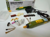 New DC12V Micro Carving Machine For Jade Small Grinders Diy Wood Grinding Mini Electric Drill Polishing Accessories