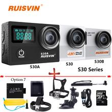 S30 Series Action Camera Novatek 96660 SJ SJ5000 Style 4K WiFi Sports Helmet Cam Diving Go Waterproof Pro Camera Sport Camera