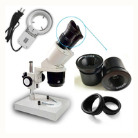 Industrial Microscope Binocular Stereo Microscope Clock Watch Cell Phone Repairing Tool WF10X WF15X WF20X Eyepieces Available