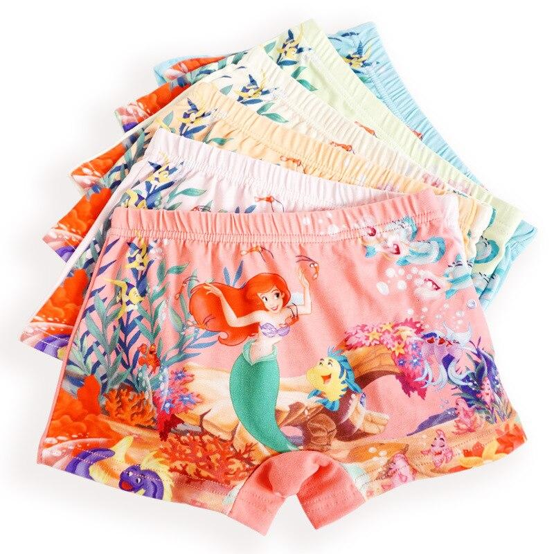 Calcinha Infantil Baby Girls Underwear Kids Panties 2 Pcs Firber Soft Panty  Baby Girls' Panties Shorts Cartoon Children Boxer