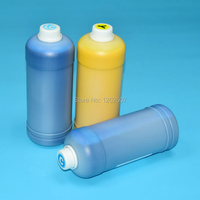 1Liter 1000ml Waterproof Bottle Refill HP83 UV Pigment Inks For HP DJ Designjet 5000 5100 5500 83 Large format plotters