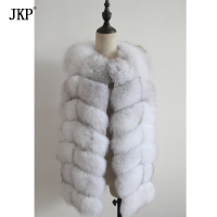 winter 100% real natural fox fur sleeveless coat women good quality fashion genuine fox fur vest
