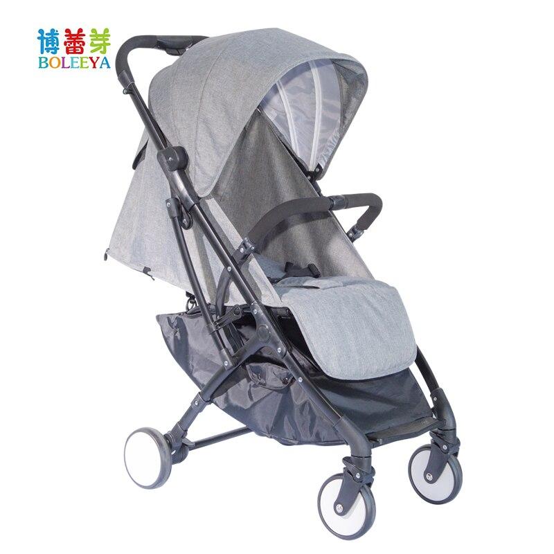 Wózek dla dziecka wielofunkcyjny łatwy do złożenia bardzo lekki wózek dziecięcy parasol dla dzieci w wielu kolorach opcjonalnie