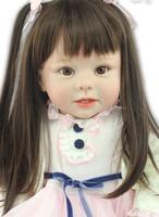 70 см Большой силиконовые винил возрождается куклы реалистичные серии Emulational Ребенок Reborn куклы Обувь для девочек Подарки Brinquedos