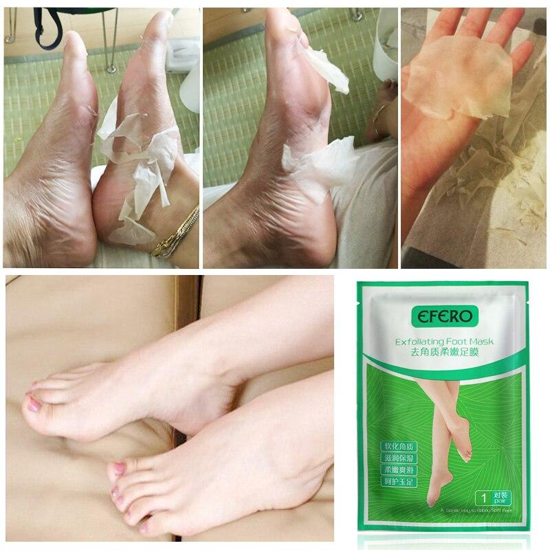 20 pcs = 10pair Exfoliating Foot Kupu-kupu bayi kaki mengupas - Perawatan kulit - Foto 3