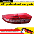 O Envio gratuito de Estilo Do Carro para Renault Fluence Luzes Novo SM3 LED Tail Light Lâmpada Traseira Da Cauda DRL + Freio + parque + Sinal de Automóvel