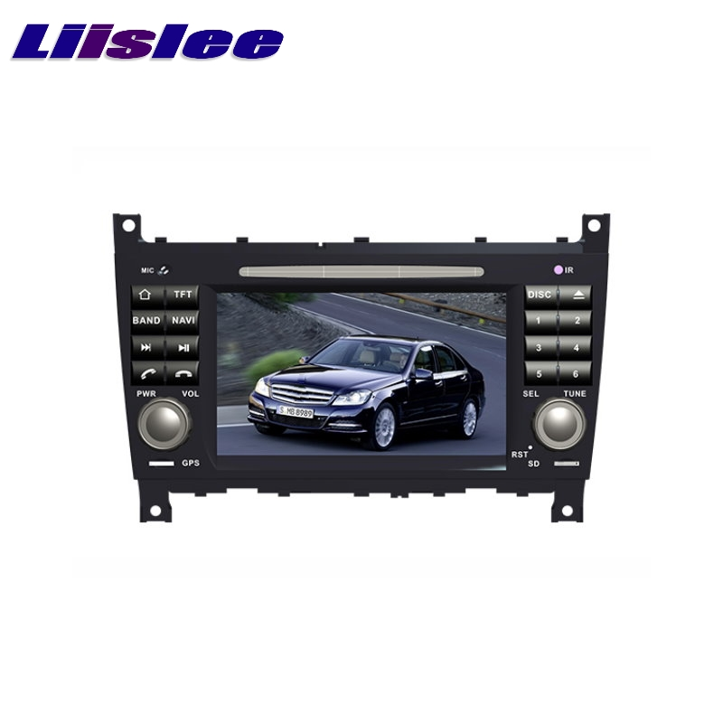 For mercedes benz mb c w203 facelift later liislee car for Mercedes benz car audio