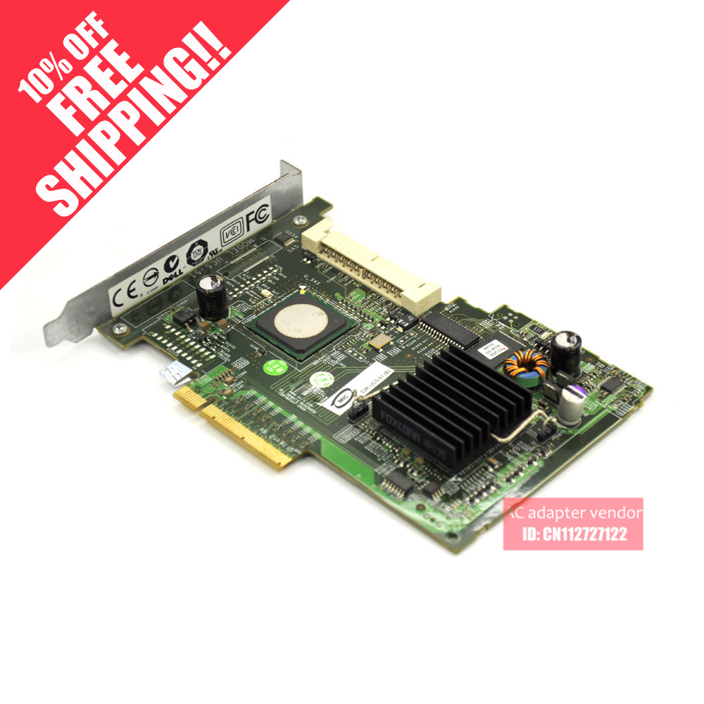 UCS-51 SAS 5/IR SAS array card card FOR DELL Server UN939 support RAID0/1