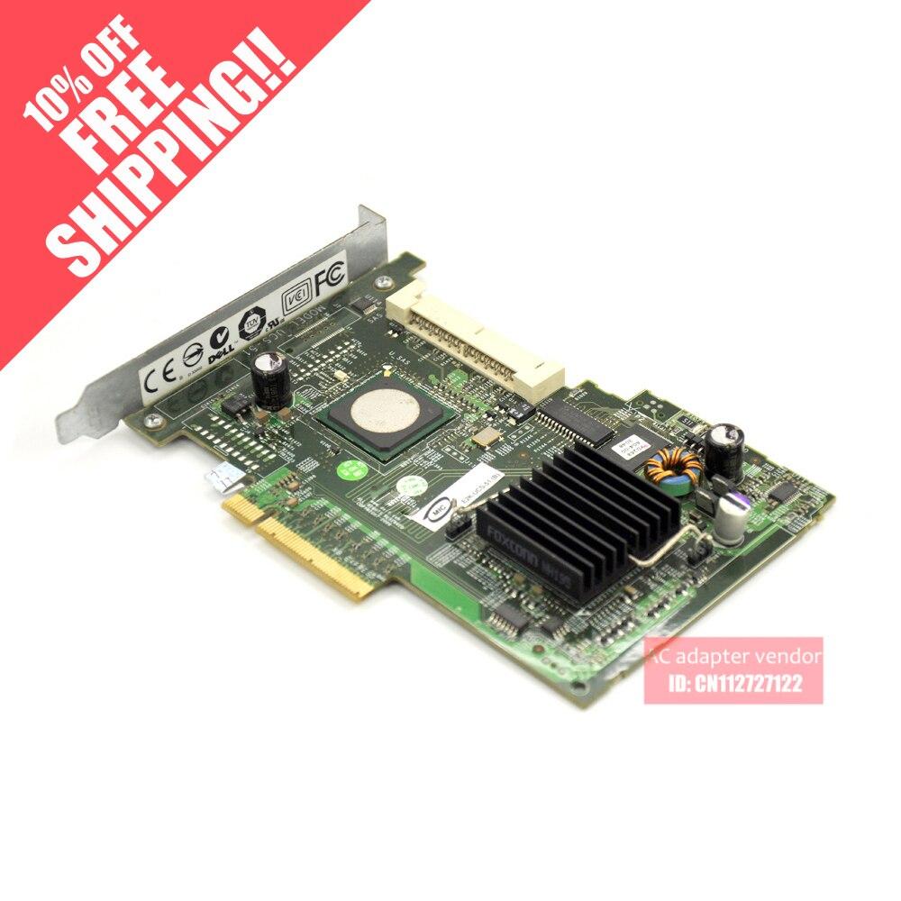 UCS-51 SAS 5/IR SAS array karte FÜR DELL Server UN939 unterstützung RAID0/1