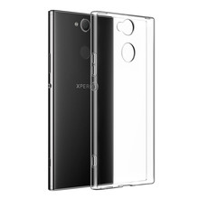 Case for Sony Xperia XA1 PLUS  XA2 XA3 ULTRA Transparent Silicon TPU cover L1 L2 L3 Z1 Z2 Z3 Z4 Z5 C3 C5 C6