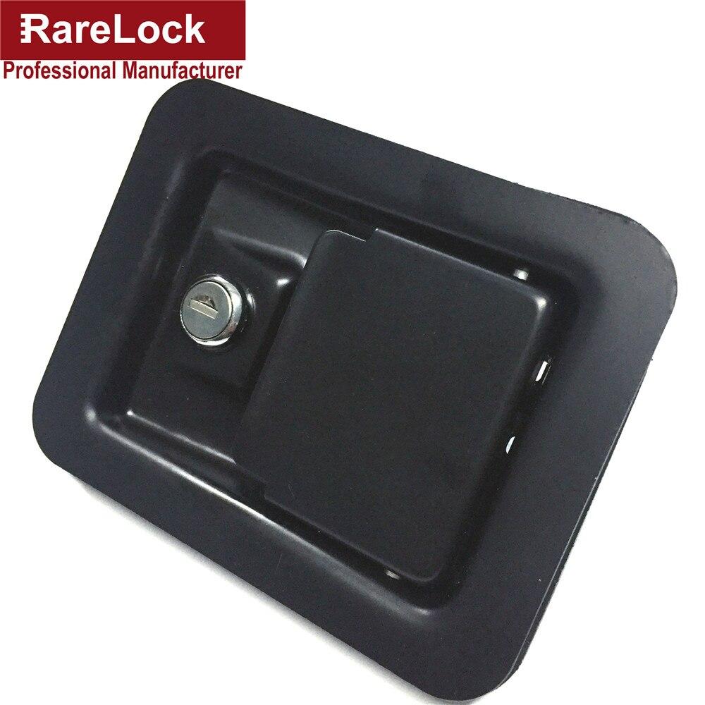 Rareté nouvelle peinture électrophorétique de haute qualité en acier noir Simple casier Bus, camion, armoire, boîte serrure Cerradura g