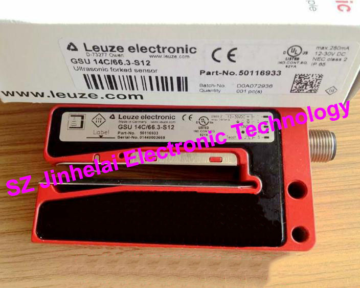 GSU 14C/66.3-S12 New and original Germany LEUZE Ultrasonic forked sensor ft328 3 4p new and original germany leuze photoelectric switch