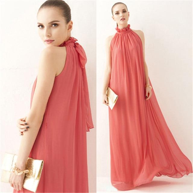 Maternity Chiffon Dresses for Pregnant Women 3